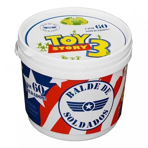 Imagem de Balde de Soldados Toy Story 60 Pecas - Toyng