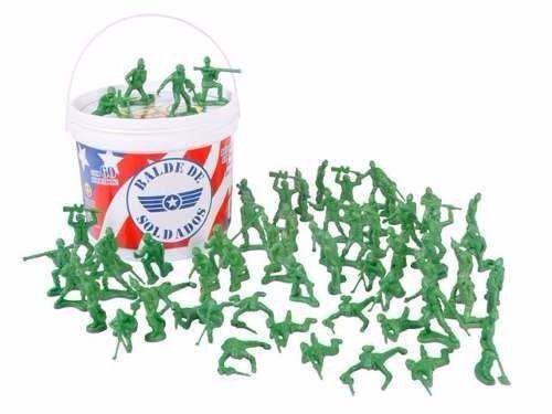 Imagem de Balde De Soldados Toy Story Com 60 Peças - Toyng