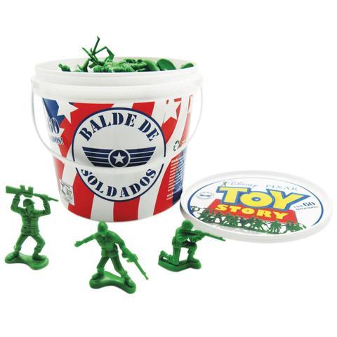 Imagem de Balde soldados toy story  toyng 60 soldados