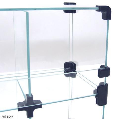 Imagem de Baleiro Expositor Modulado em Vidro - 0,50 x 0,30 x 0,15