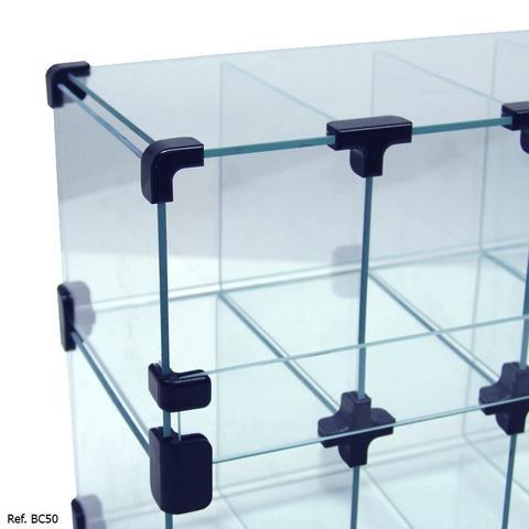 Imagem de Baleiro Expositor Modulado em Vidro - 0,50 x 0,30 x 0,20