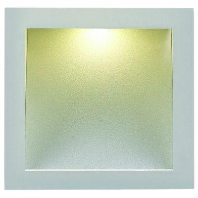 Imagem de Balizador em aluminio 8,3cmx8,3cmx5,1cmh 1x3led - br