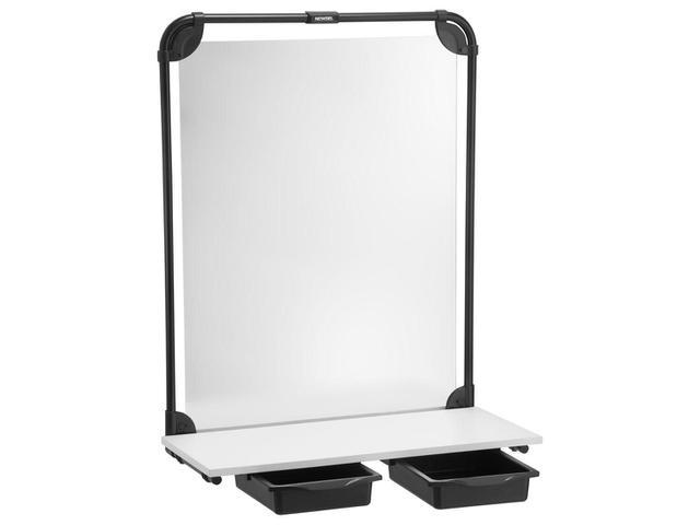 Imagem de Bancada Suspensa com Espelho 2 Gavetas