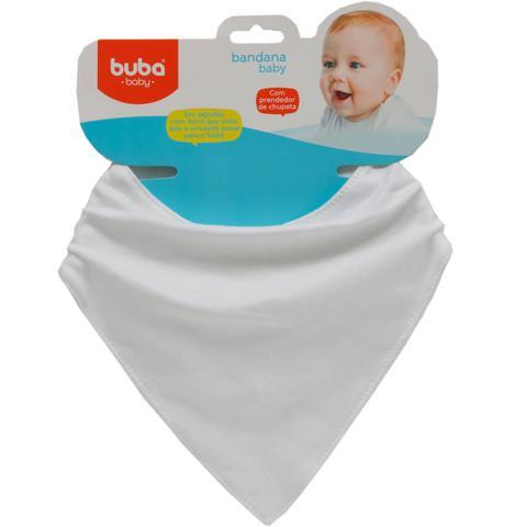 Imagem de Bandana Baby Branco - Buba