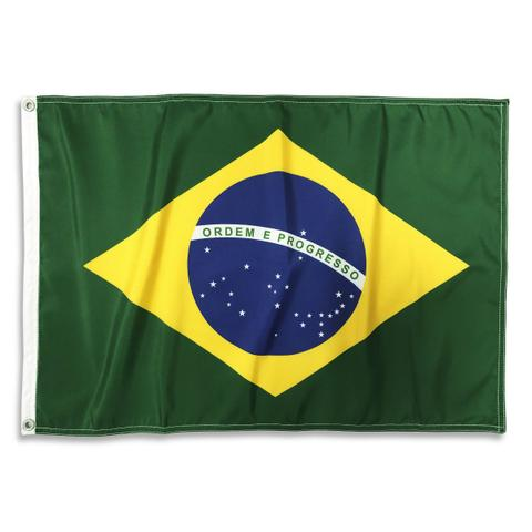 Imagem de Bandeira Brasil Oficial ABNT 70x100cm Dupla Face