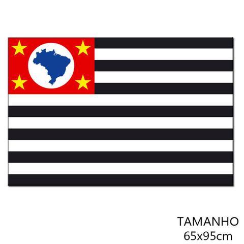 Imagem de Bandeira de Tecido 65x95cm Estado de São Paulo