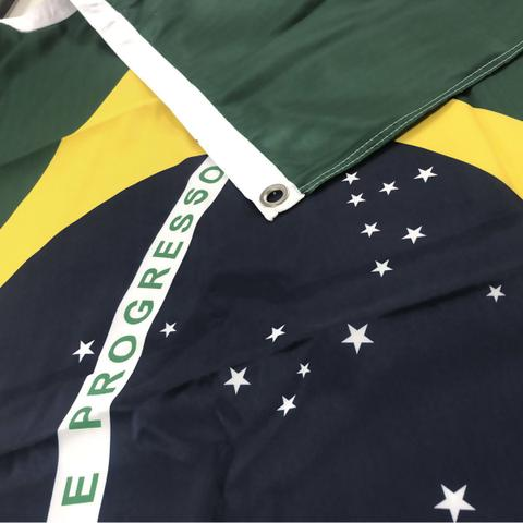Imagem de Bandeira do Brasil Dupla Face Oficial ABNT NBR 112x160cm