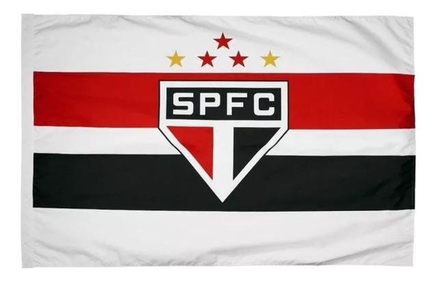 Imagem de Bandeira Do São Paulo Futebol Clube  90 X 130 Cm