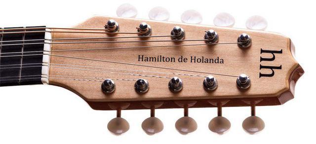 Imagem de Bandolim Rozini 10 Cordas Acústico Prof Hamilton De Holanda
