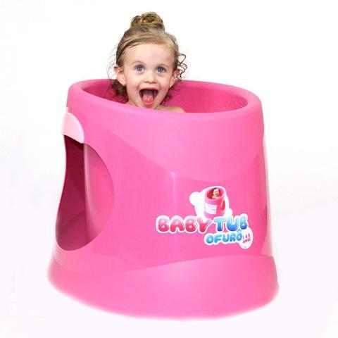 Imagem de Banheira Babytub Ofurô - De 1 a 6 Anos - Rosa - Baby Tub