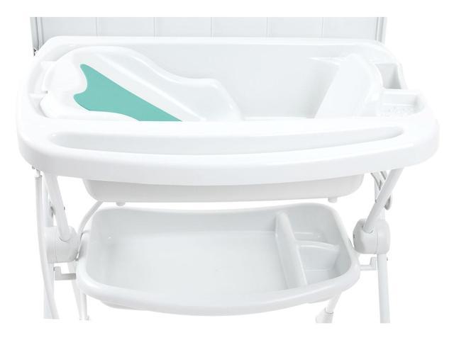 Imagem de Banheira de Bebê Burigotto com Suporte e Trocador - Splash 20L