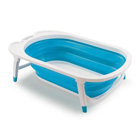 Imagem de Banheira Dobravel Flexi Bath Azul BB172 Multikids Baby