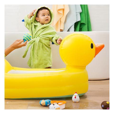 Imagem de Banheira para Bebê Inflável Munchkin - Patinho Amarelo