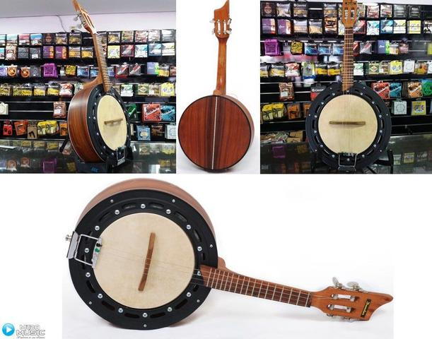 Imagem de Banjo Eletroacústico Dember Natural Db01nt