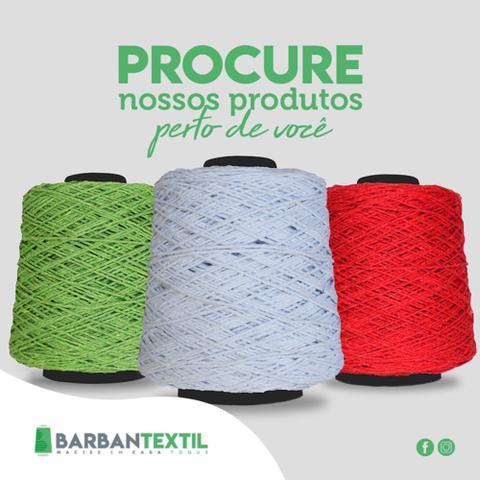 Imagem de Barbante Colorido Barbantextil nº6, 1kg Kit com 06 unidades Cores Variadas