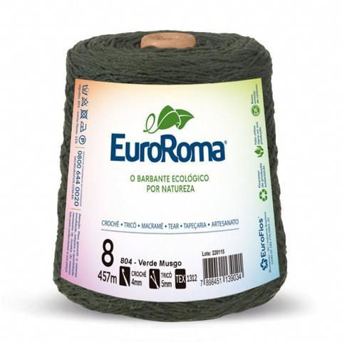 Imagem de Barbante Euroroma 600gr 4/8 457m verde musgo