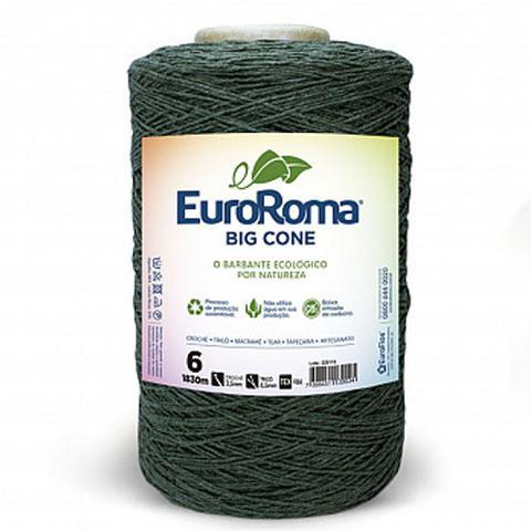 Imagem de Barbante EuroRoma Big Cone Verde Musgo número 06 - 1,8Kg