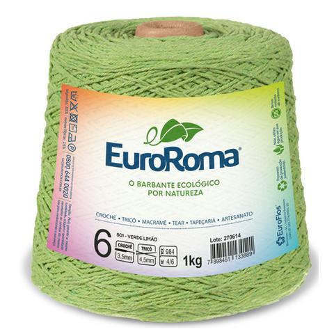 Imagem de Barbante Euroroma Colorido N06 1kg Eurofios