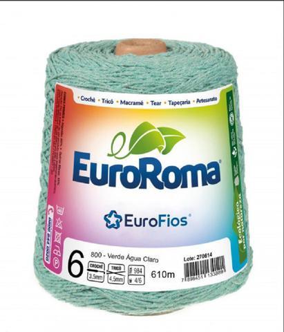 Imagem de Barbante Euroroma Colorido N06 600g Eurofios