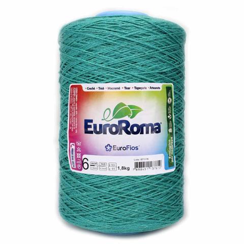 Imagem de Barbante EuroRoma Colorido N6 - 1,8 Kg - Eurofios
