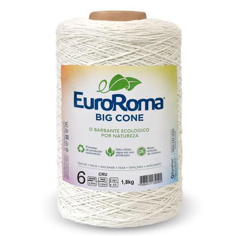 Imagem de Barbante Euroroma Crú 1,8 Kg n06 - Eurofios