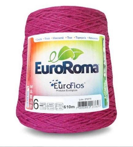 Imagem de Barbante Euroroma N06 600g Eurofios Pink