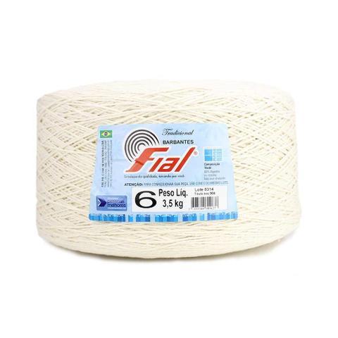 Imagem de Barbante Fial Crú Super Cone 3,5kg n06