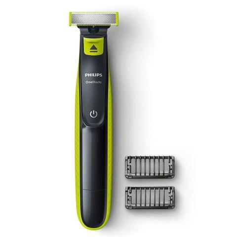 Imagem de Barbeador Aparador de Pelos Oneblade Philips Qp2510/10 Bivolt