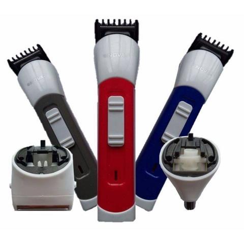 Imagem de Barbeador Aparador Pelos E Máquina De Cortar Cabelos 3 Em 1 Nova Nch-2011