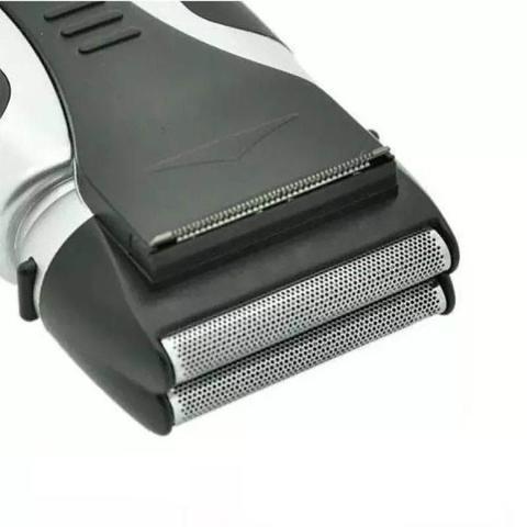 Imagem de Barbeador Eletrico Recarregavel Prova Dagua Aparador Pelos Barba Costeleta Bivolt (888639)