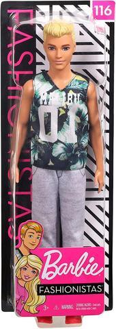 Imagem de Barbie - Boneco Ken Fashionista Loiro Malibu 116 - Mattel