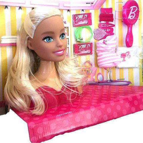 Imagem de Barbie busto - styling head 21 peças - pupee 11701255