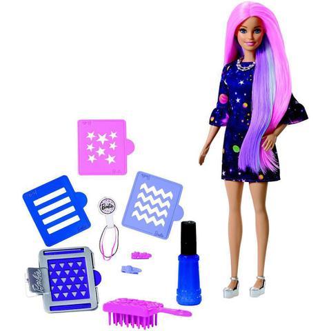 70d92b2c1b Barbie Cabelos Coloridos - FHX00 - Mattel - Boneca Barbie - Magazine ...
