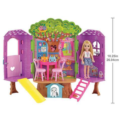 Imagem de Barbie Casa da Árvore da Chelsea - Mattel