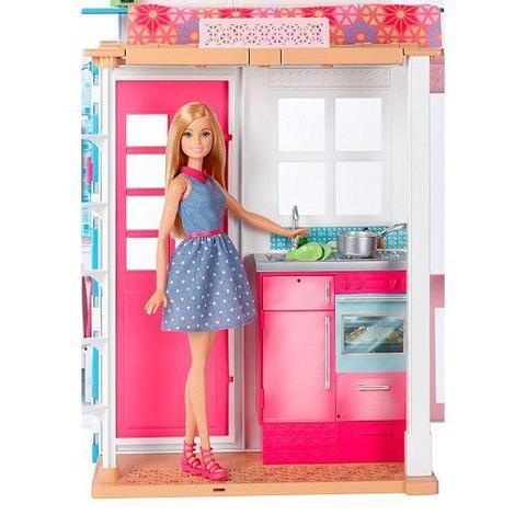 Imagem de Barbie Casa Real Com Boneca DVV48 Mattel