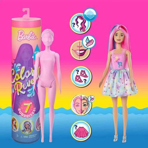 Imagem de Barbie Color Reveal Fashion 7 Surpresas Mattel - GMT48