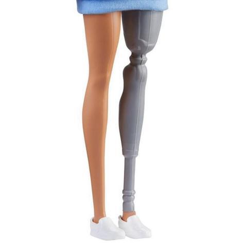 Imagem de Barbie Fashionista  121 - Perna Mecânica - Mattel