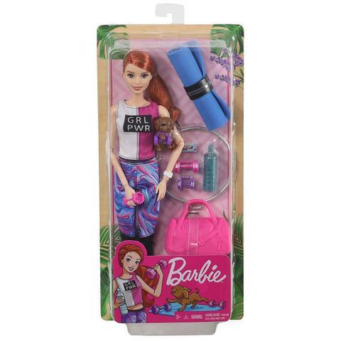 Imagem de Barbie Fashionista Dia de Spa Fitness - Mattel