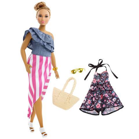 Imagem de Barbie Fashionista Roupas e Acessorios Look Modelo 102 Fjf67