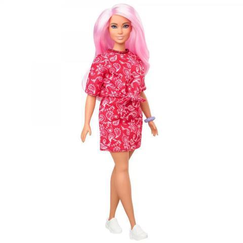 Imagem de Barbie Fashionista Vestido Red 151 - Mattel
