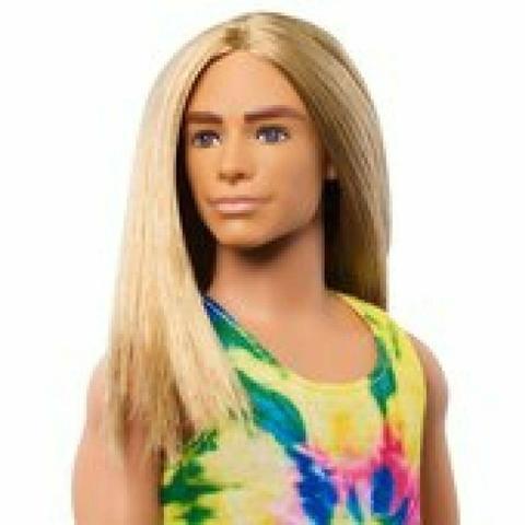 Imagem de Barbie Fashionistas 138 Ken Cabelo Longo Surfista DWK44/GHW66 - Mattel (4318)