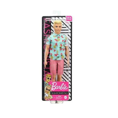Imagem de Barbie Fashionistas - Boneco Ken Cabelo Loiro - Mattel