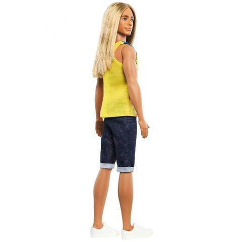Imagem de Barbie Fashionistas Ken Cabelo Longo Surfista DWK44/GHW66 - Mattel