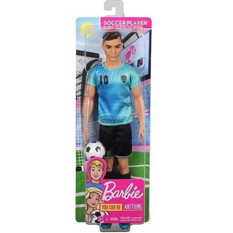 Imagem de Barbie ken Profissões Jogador de Futebol fxp02 Mattel
