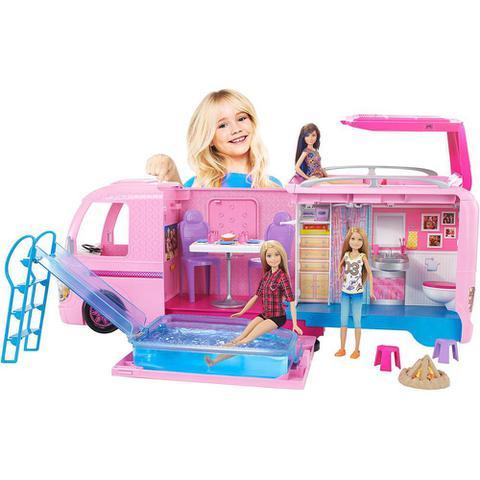 Imagem de Barbie Real Trailer Dos Sonhos FBR34  Mattel