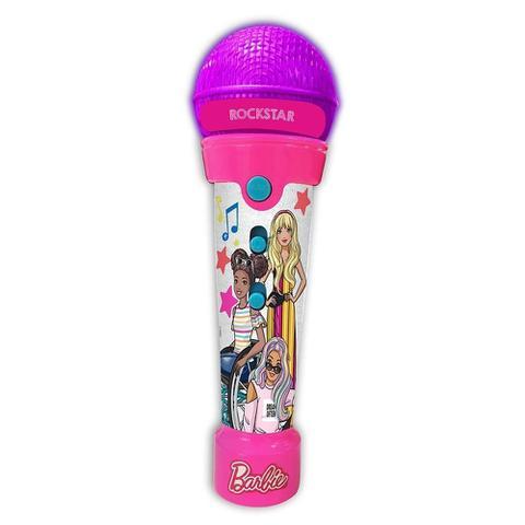 Imagem de Barbie Rockstar Microfone Infantil Fun - F0020-0