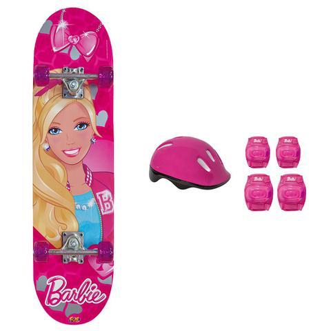 Imagem de Barbie Skate com Acessórios e Adesivo Glitter-Fun Divirta-Se