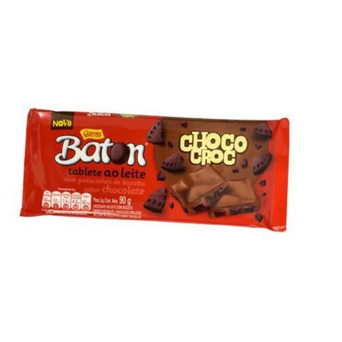 Imagem de Barra de chocolate choco croc 90g baton