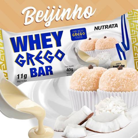 Imagem de Barra de proteína grego bar beijinho - 12 unidades - nutrata