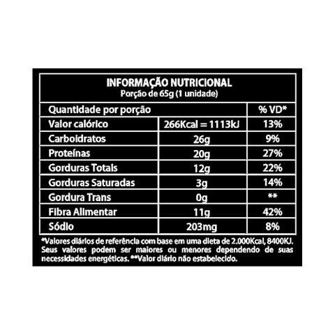 Imagem de Barra de Proteína Vegana Almond Chocolat Harts Natural 65g